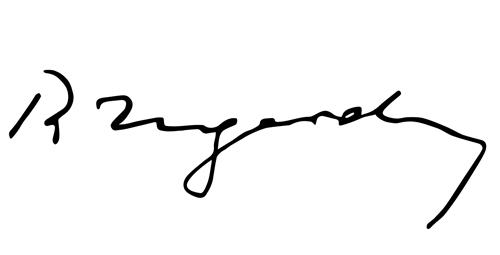 Roman Ingarden signature