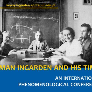 """Conference """"Roman Ingarden and His Times"""" 25-27 October 2018"""
