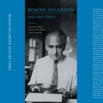 """Publication """"Roman Ingarden and His Times"""""""