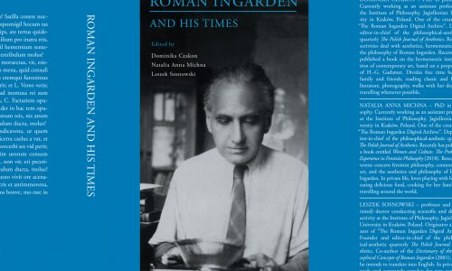 "Publication ""Roman Ingarden and His Times"""
